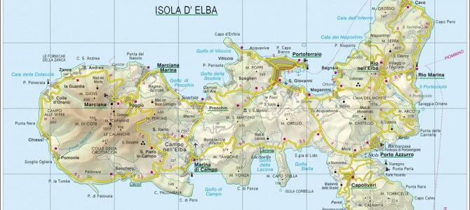 Cartina Geografica Isola D Elba.Cartina Elba In Pdf Affitto Appartamenti Isola D Elba